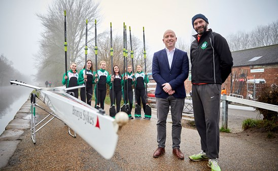 Peter Parkinson and Trafford Rowing Club